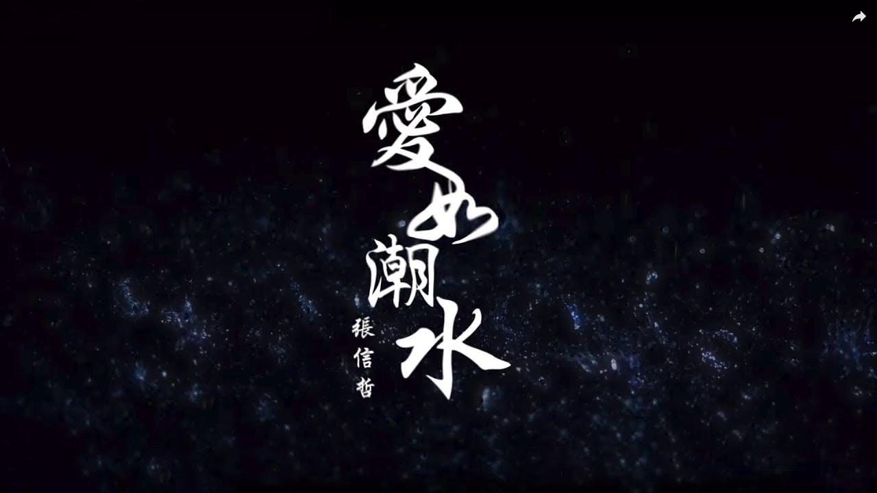 張信哲 愛如潮水(輕流版) MV