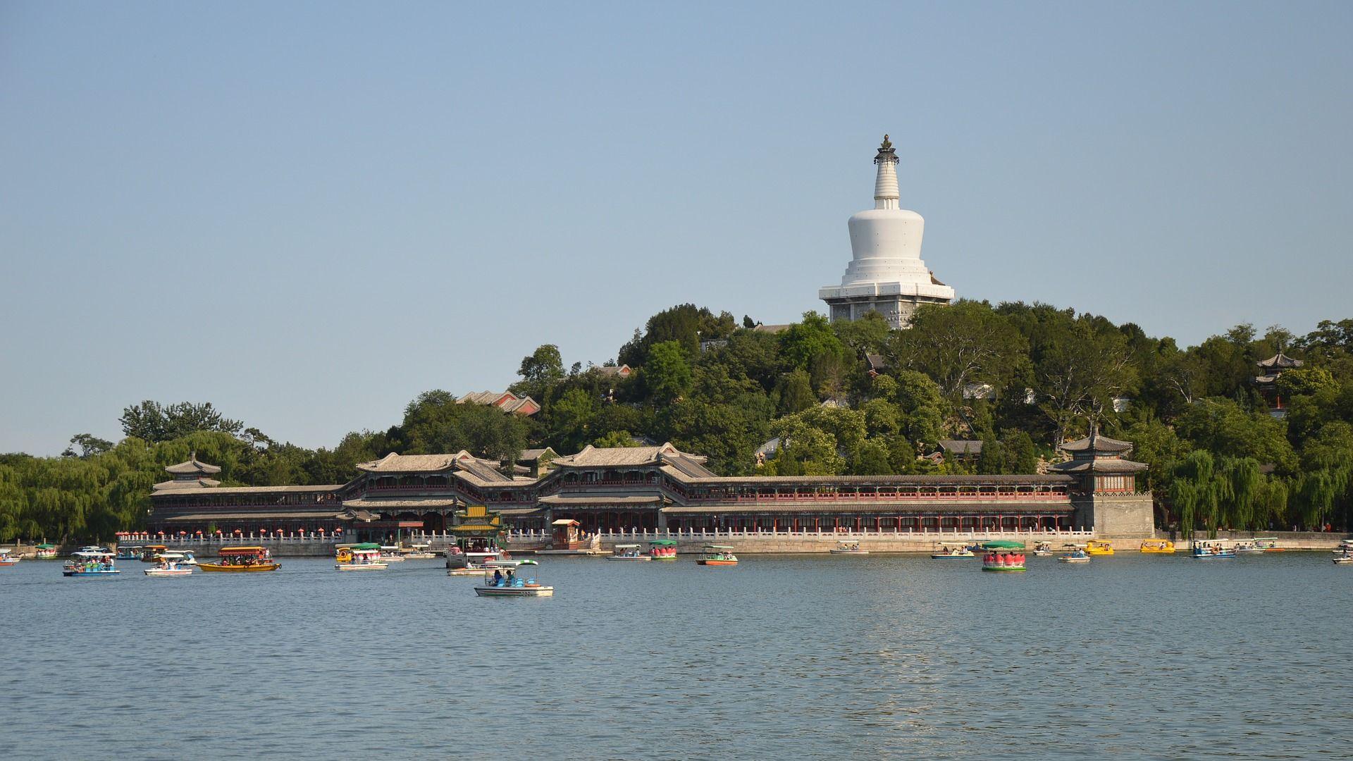 北京の北海公園