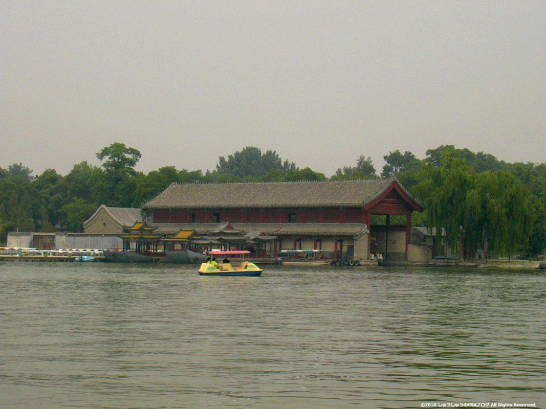 北京の北海公園の北海