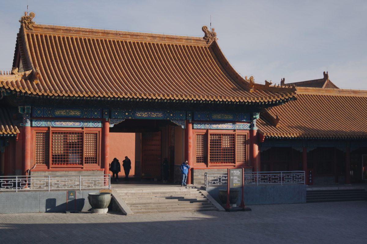 北京の故宮の東六宮