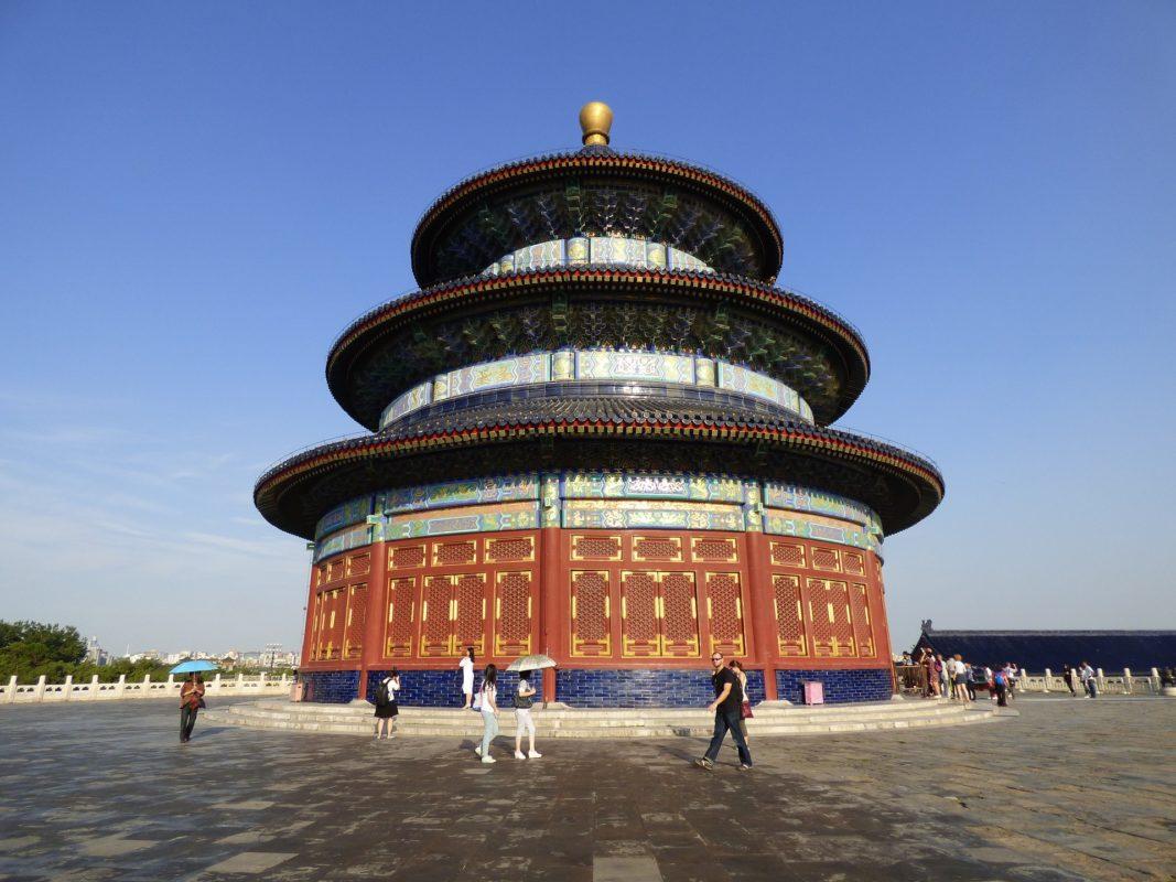 北京の天壇公園