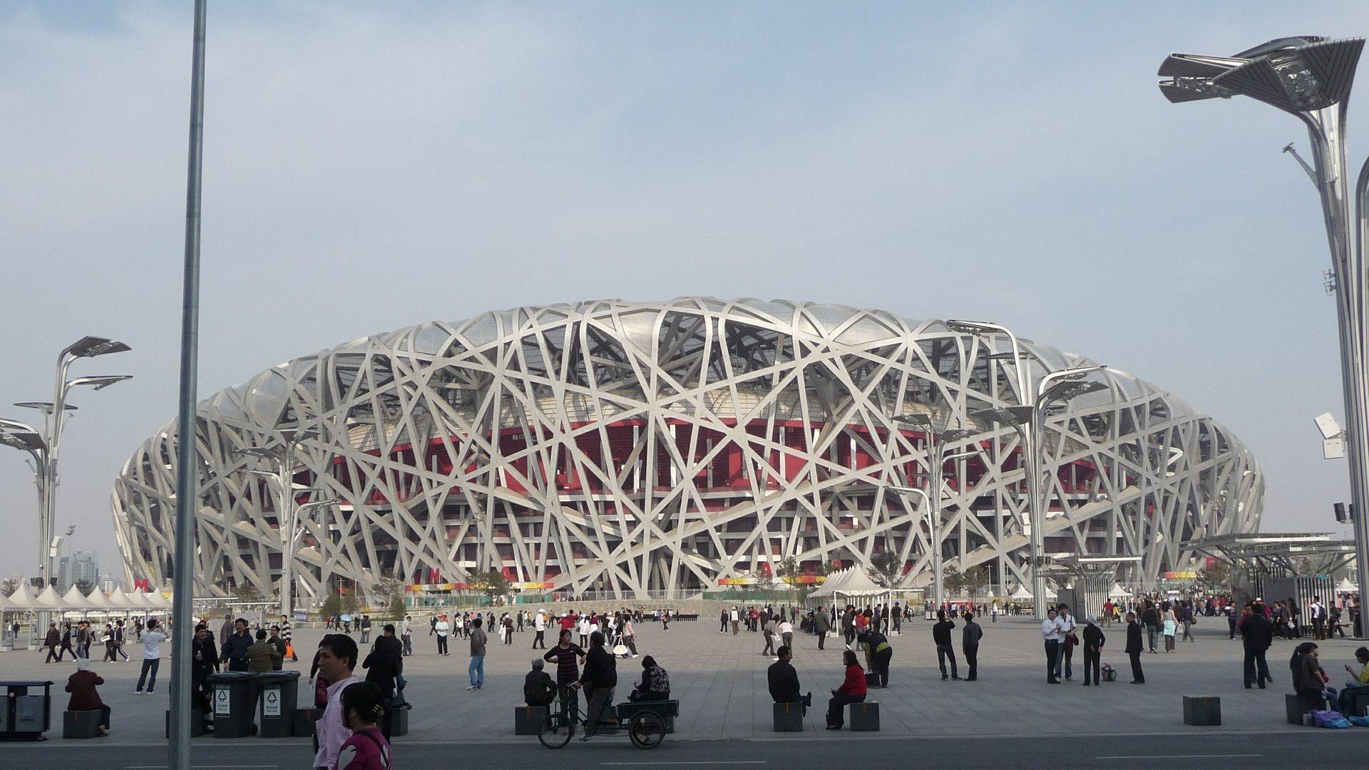 北京の鳥の巣