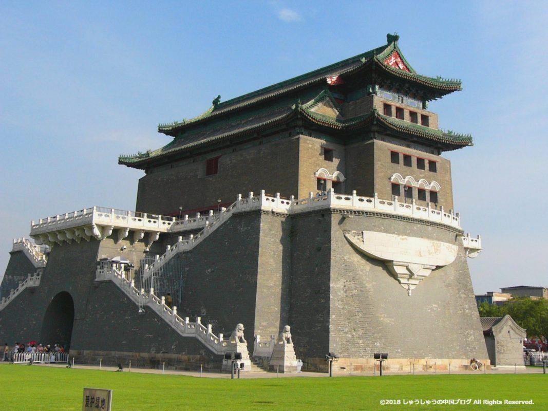 正陽門箭楼の後ろ側
