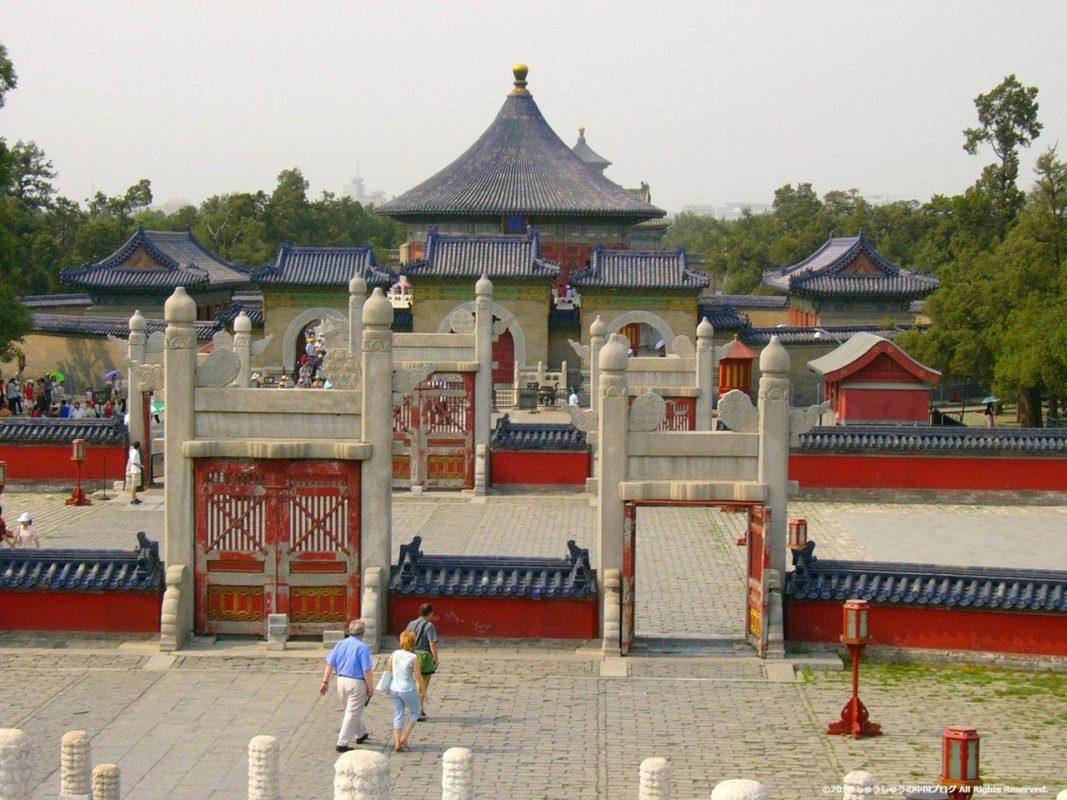 北京の天壇の皇穹宇
