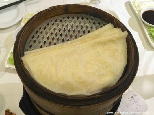 北京ダックの便宜坊の皮