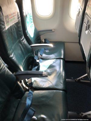 春秋航空の座席