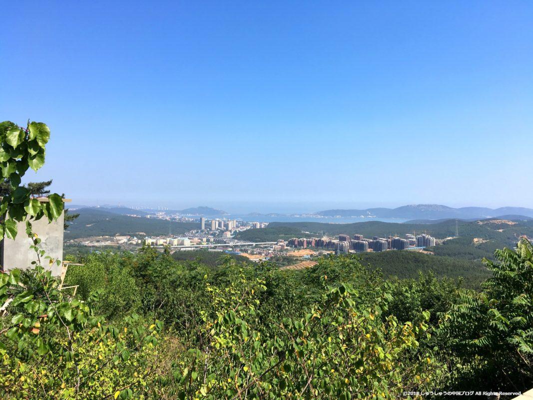 旅順203高地から見た旅順港