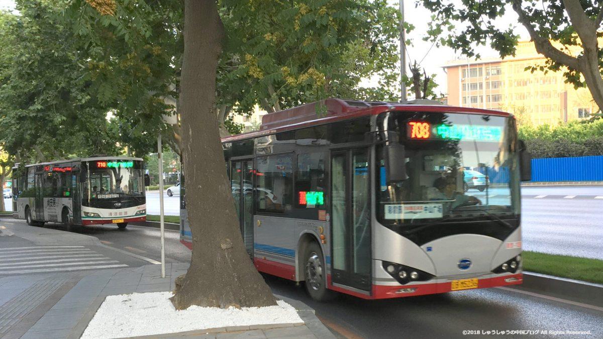 大連のバス