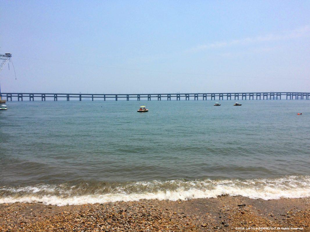 大連 星海公園の橋