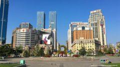 大連中山広場の全景