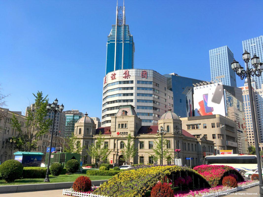 大連中山広場の旧大清銀行