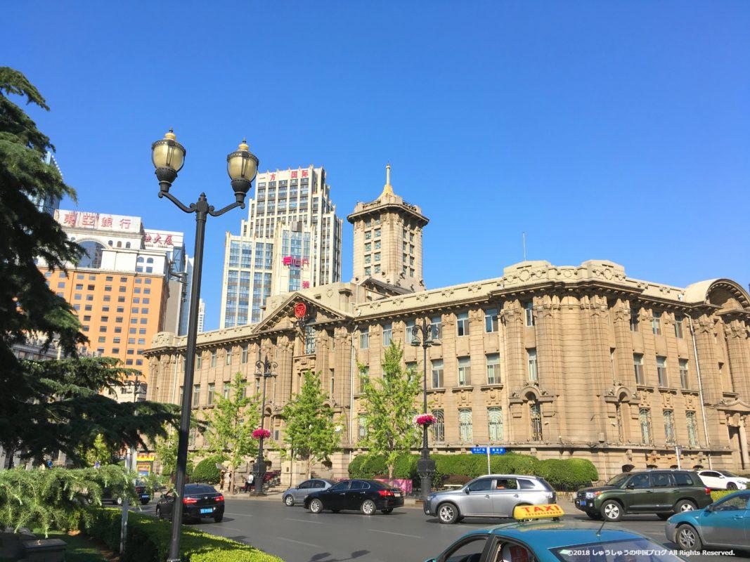 大連中山広場の旧大連市役所