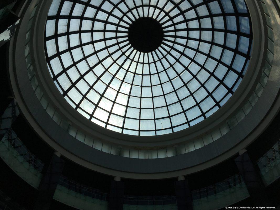 大連博物館の屋根