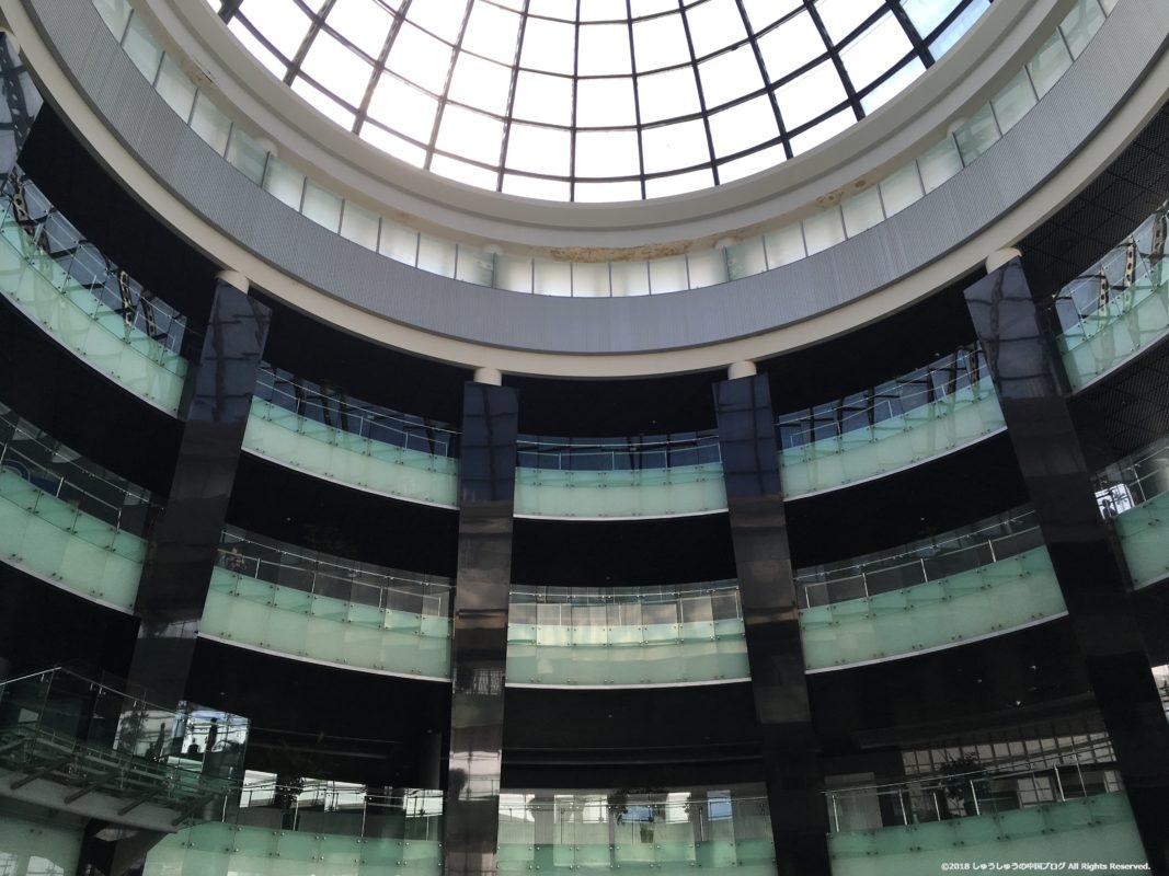 大連博物館の内部