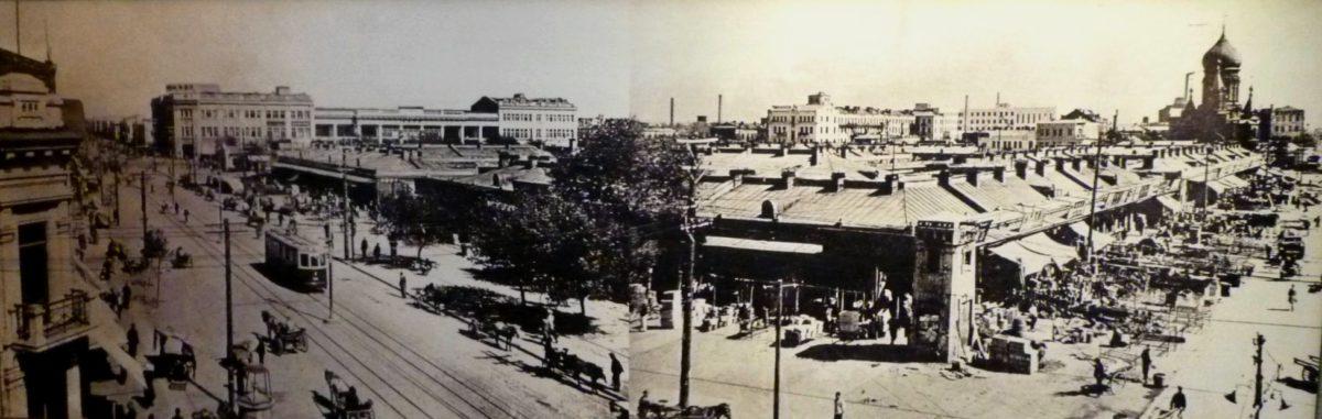 昔のハルビンの街の様子の写真その2