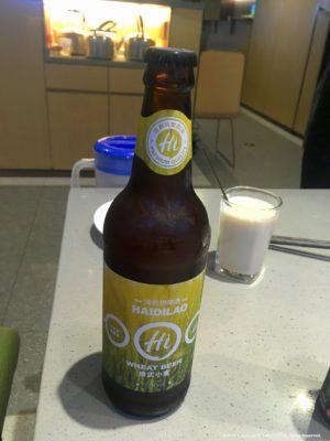 海底捞ブランドのビール