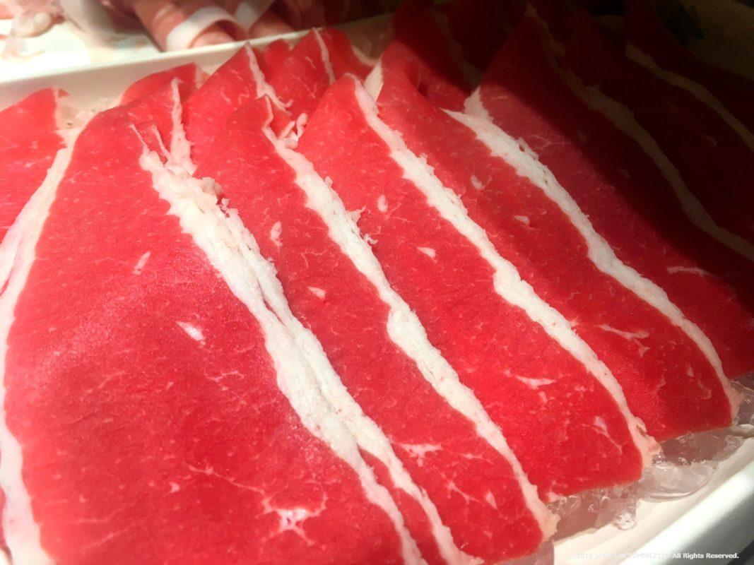 海底捞の牛肉