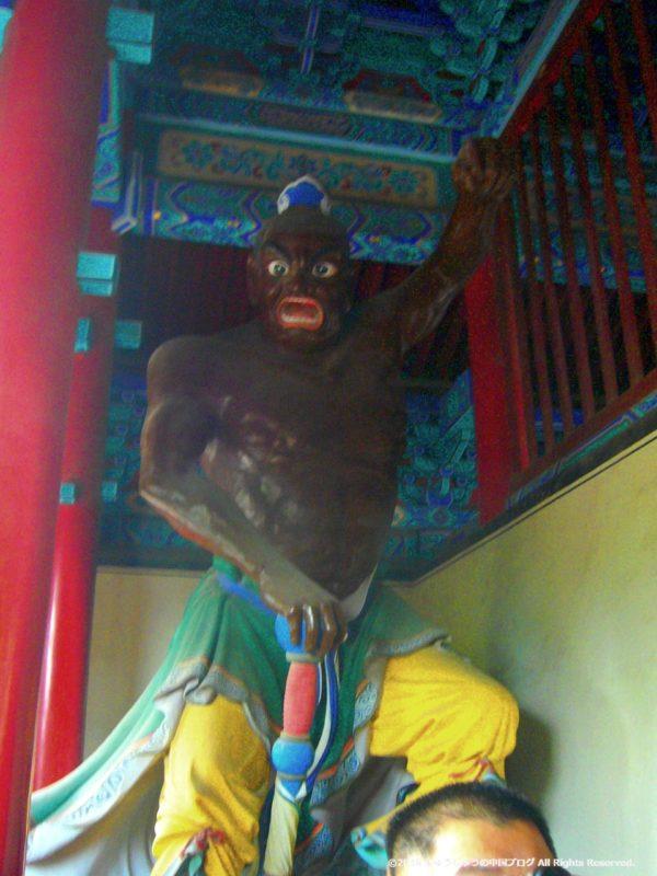 少林寺天皇殿の金剛像その2