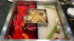 中国の3色火鍋