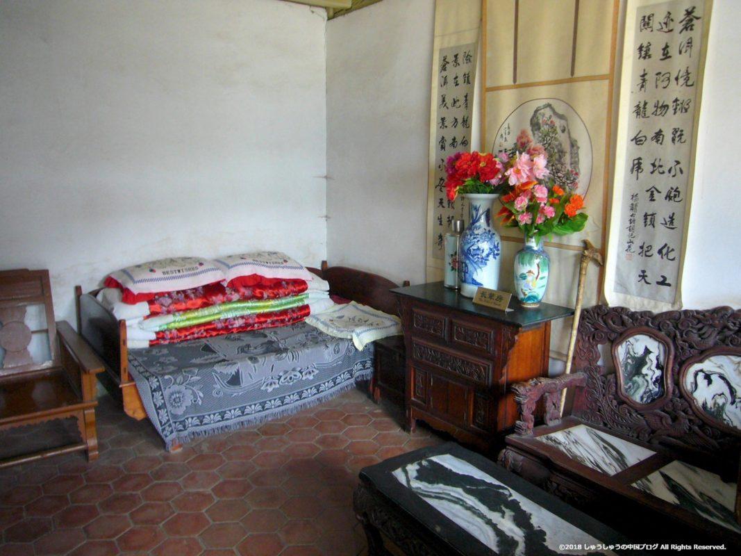 雲南民族村の白族の住居2