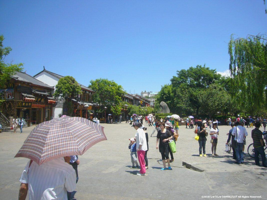 麗江古城の四方街6
