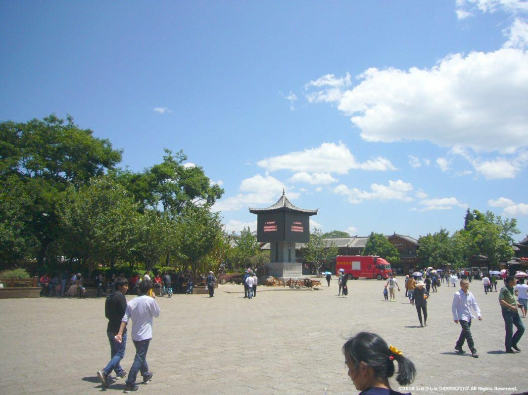 麗江古城の四方街7