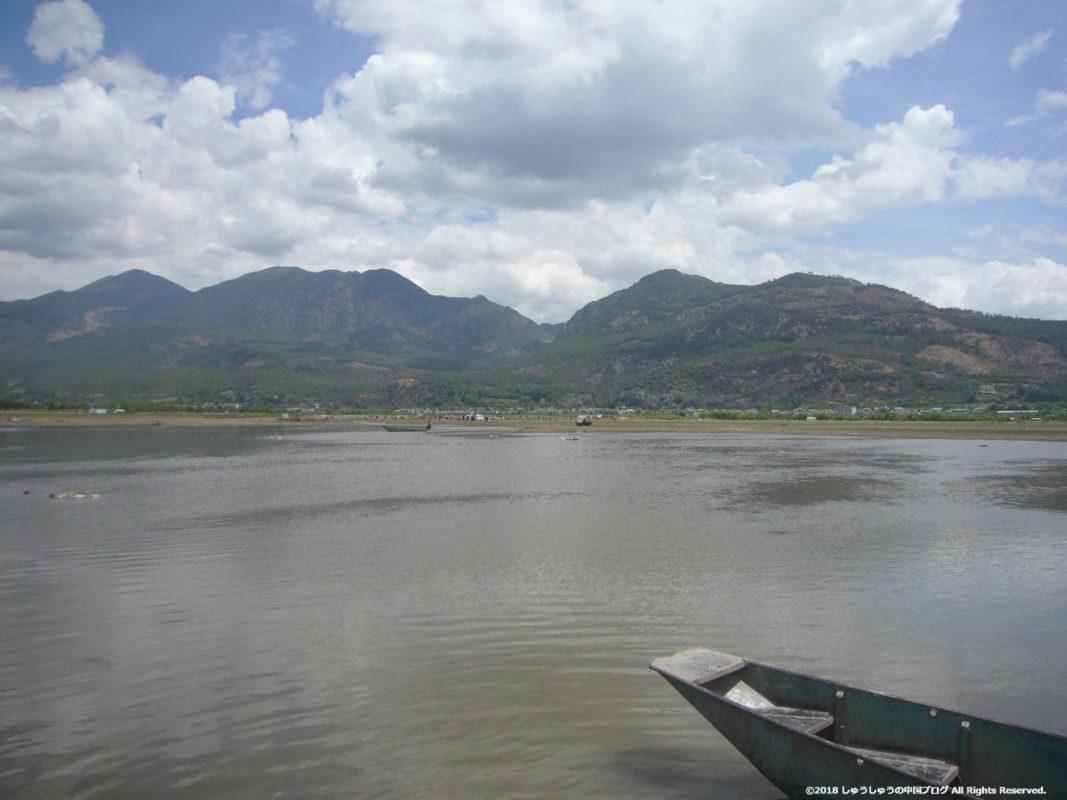 麗江の茶馬古道ツアーの乗船
