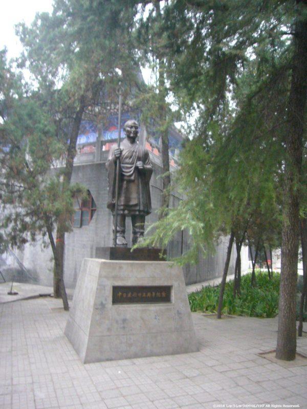 白馬寺の空海像
