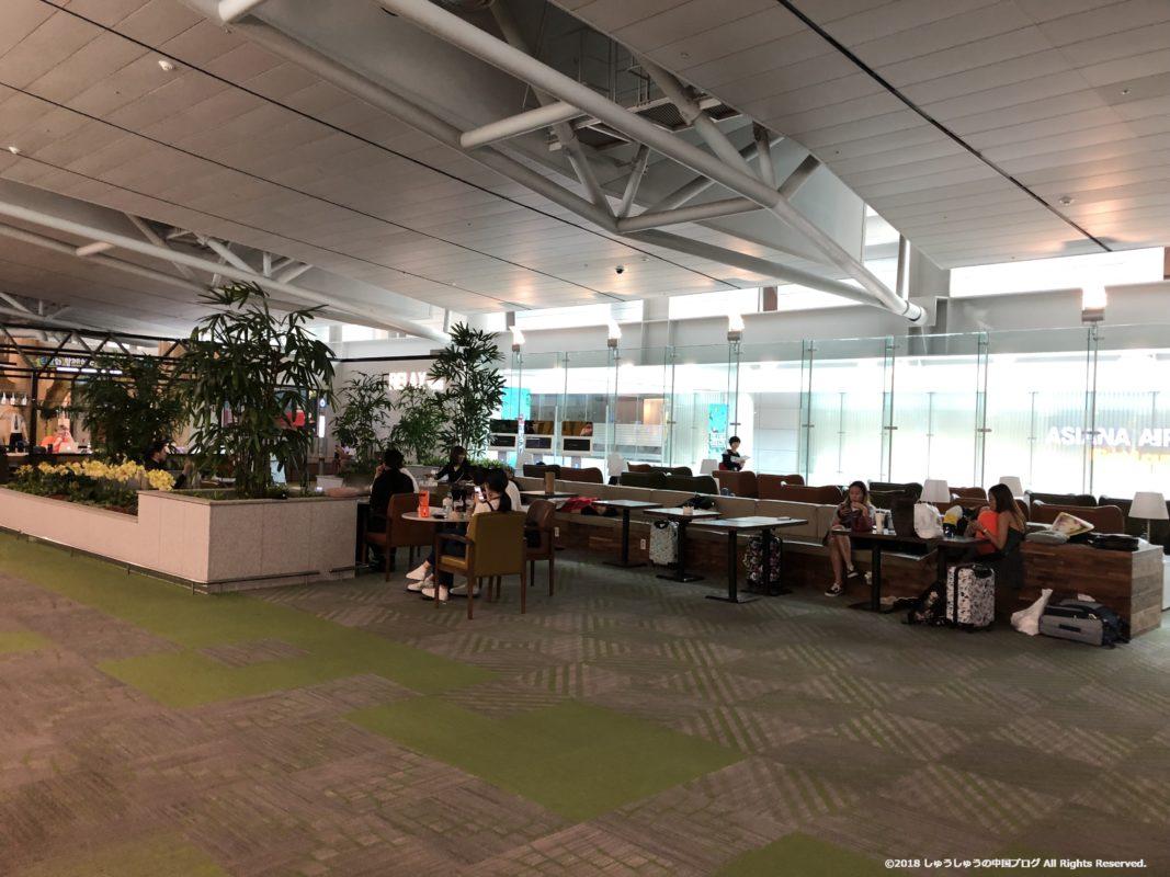 ソウル仁川国際空港のRest Area