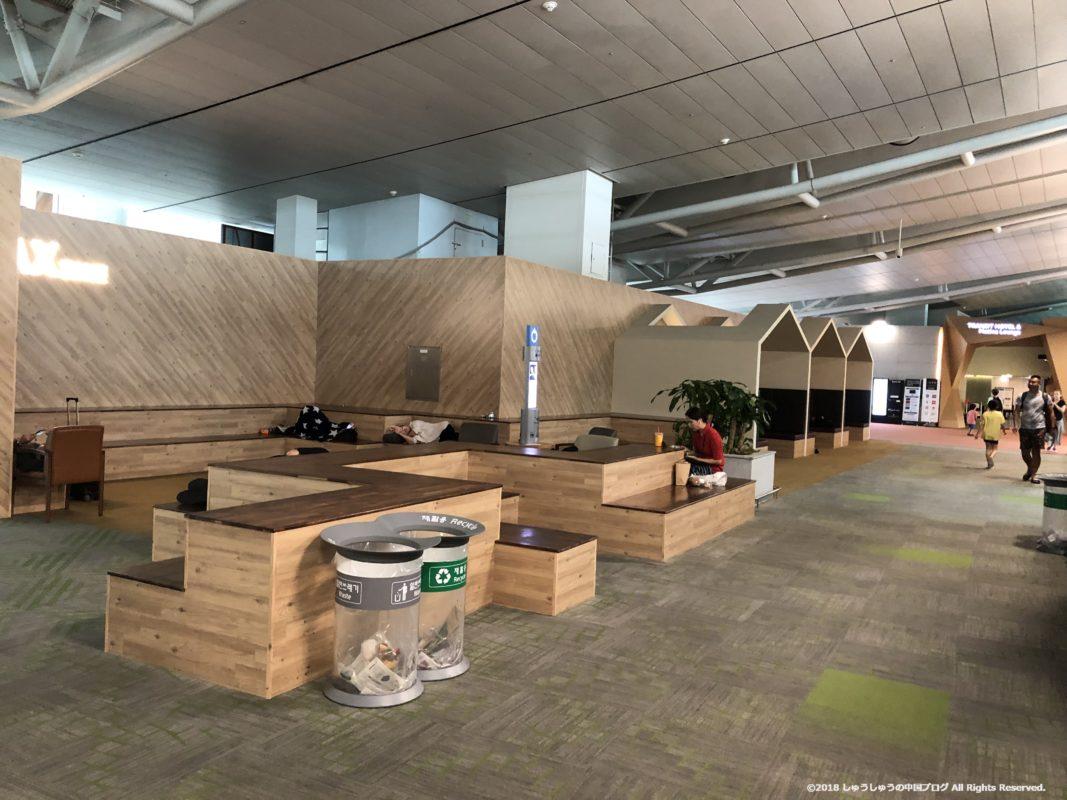 ソウル仁川国際空港第1ターミナル4FのREST AREA