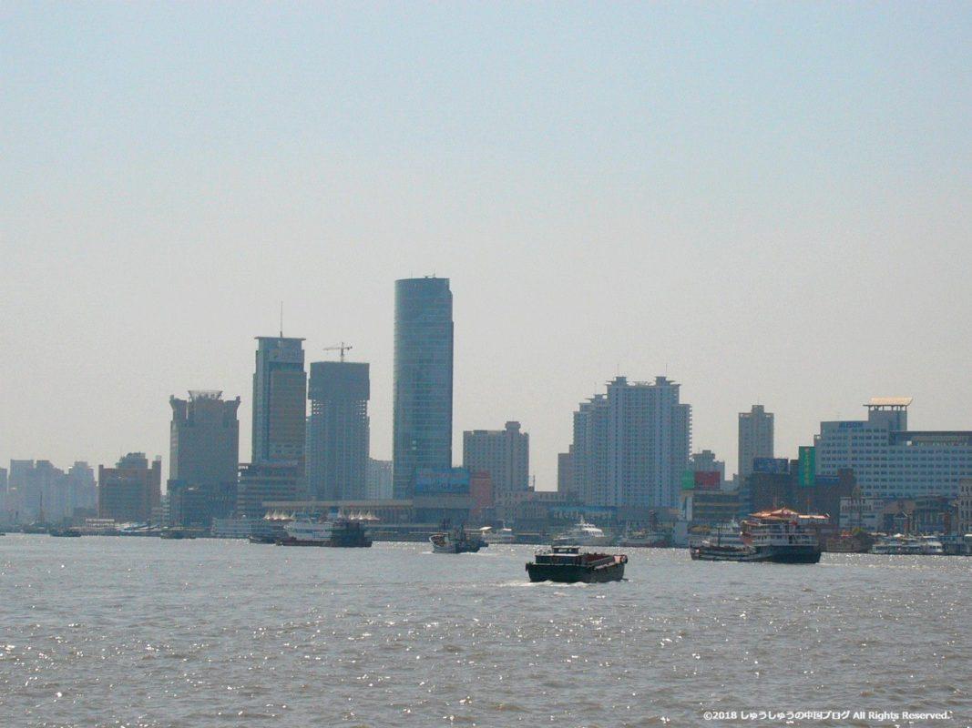 2004年の黄浦江