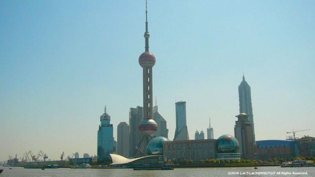 昔の上海の外灘・陸家嘴(2004年・2005年・2006年・2010年)