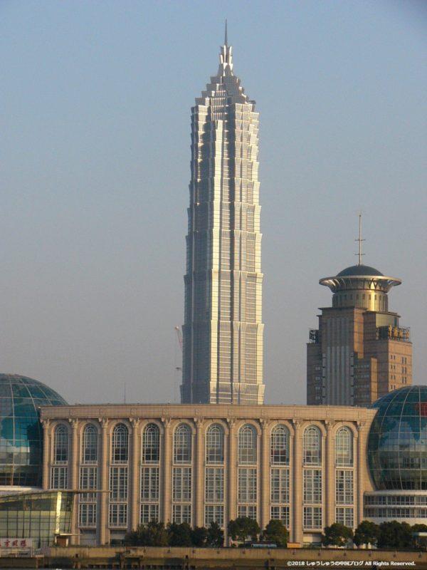 2005年の金茂大厦