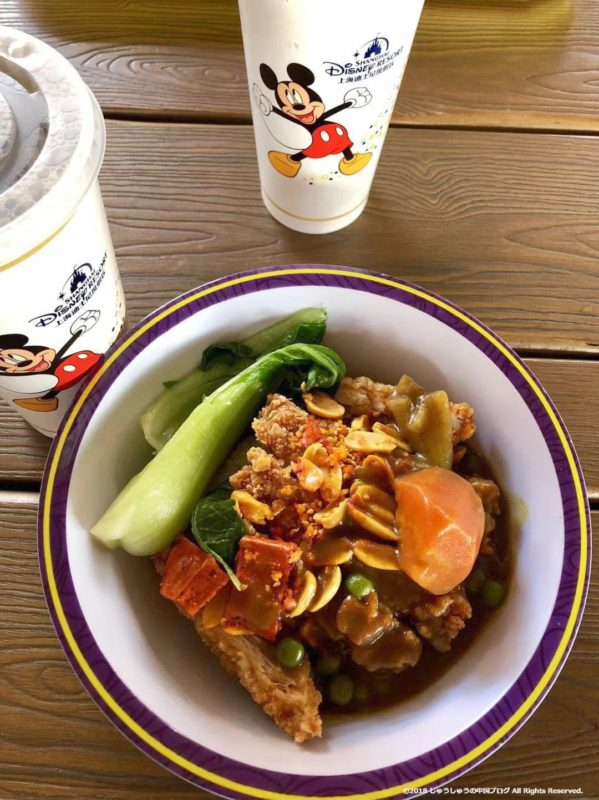上海ディズニーランドの食事