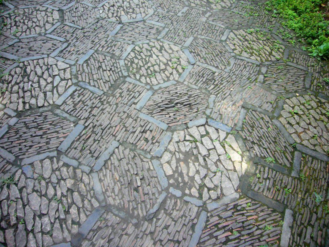 上海豫園の地面その1