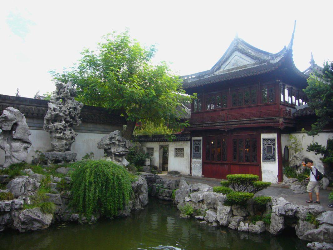 上海豫園の庭園その1