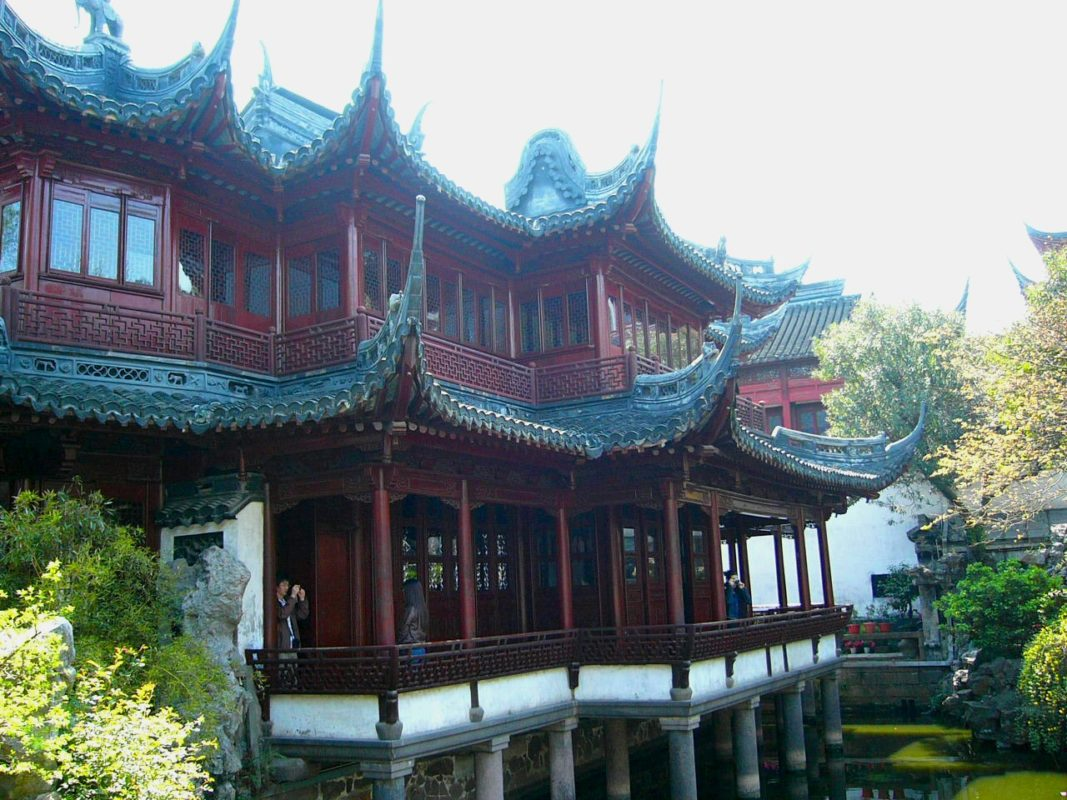 上海豫園の建物その1
