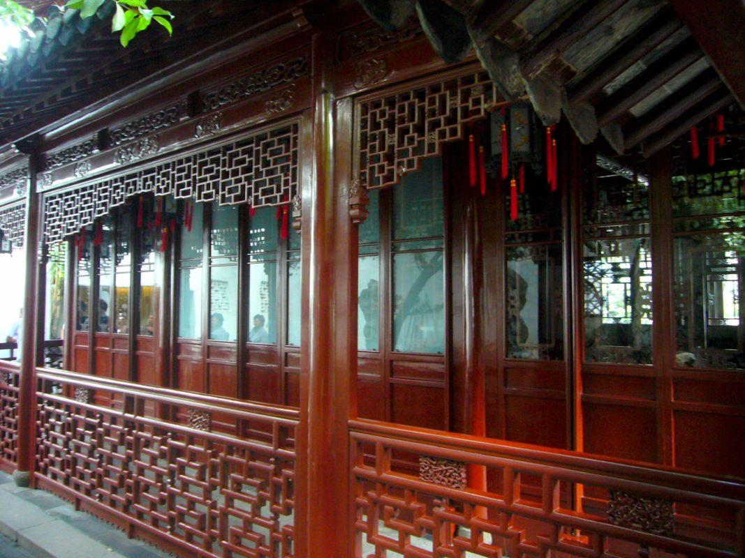 上海豫園の回廊その1
