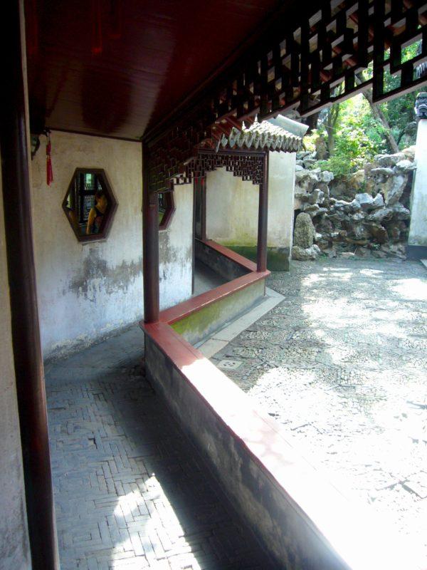 上海豫園の回廊右