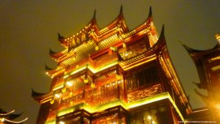 上海 夜の豫園商城 ~夜の豫園商城は幻想的~