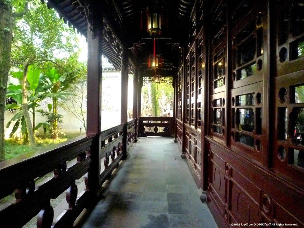 蘇州の獅子林の回廊