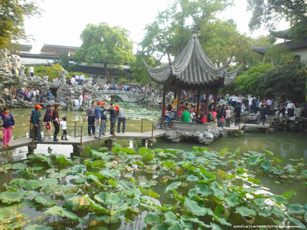 蘇州の獅子林の庭園