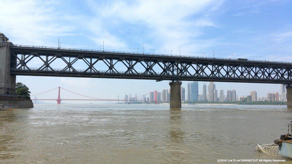 武漢の長江大橋