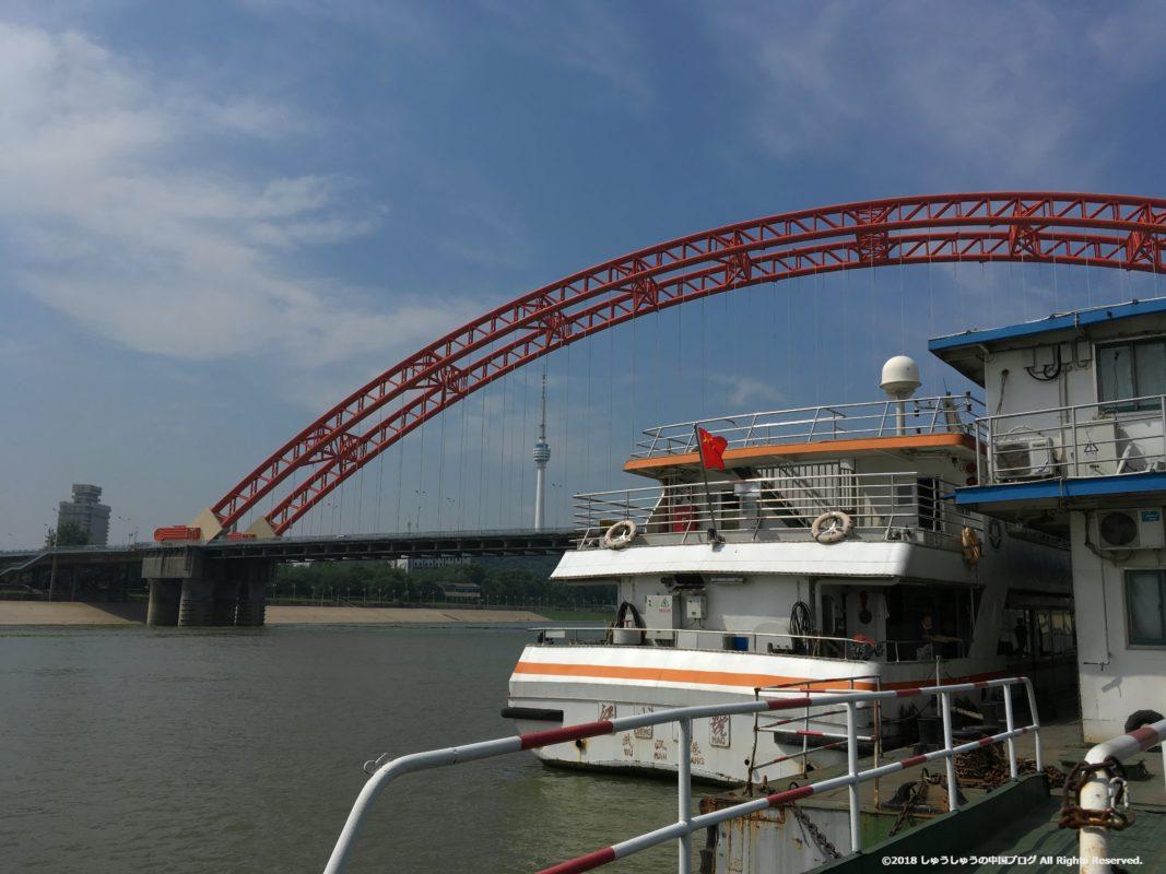武漢の渡し船(水上バス)