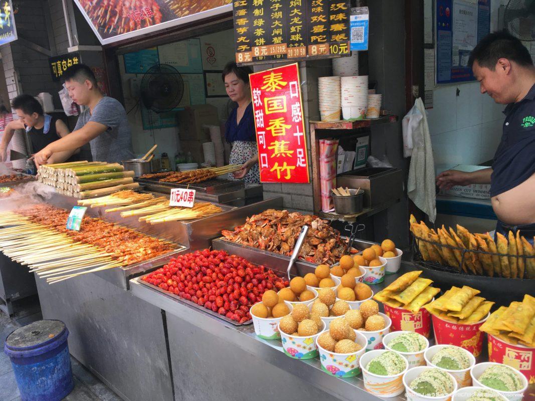 武漢の戸部巷の小吃店その3