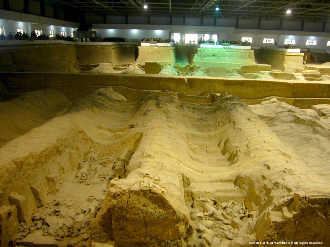 秦始皇兵馬俑博物館2号坑