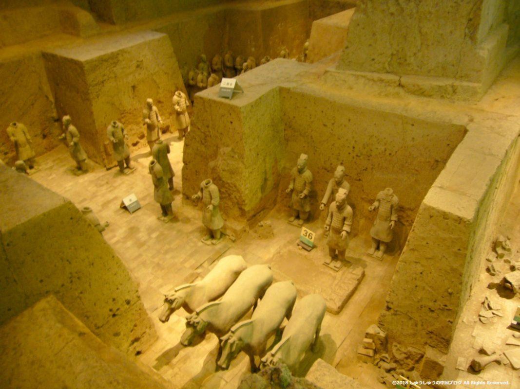 秦始皇兵馬俑博物館3号坑その1