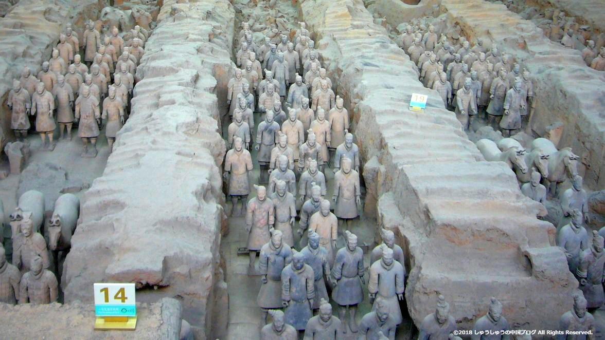 秦始皇兵馬俑博物館1号坑