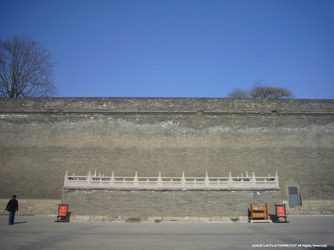 西安城壁の内側