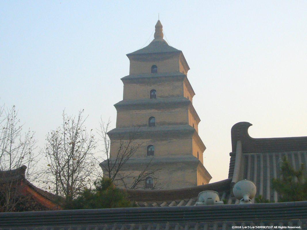 西安の大雁塔